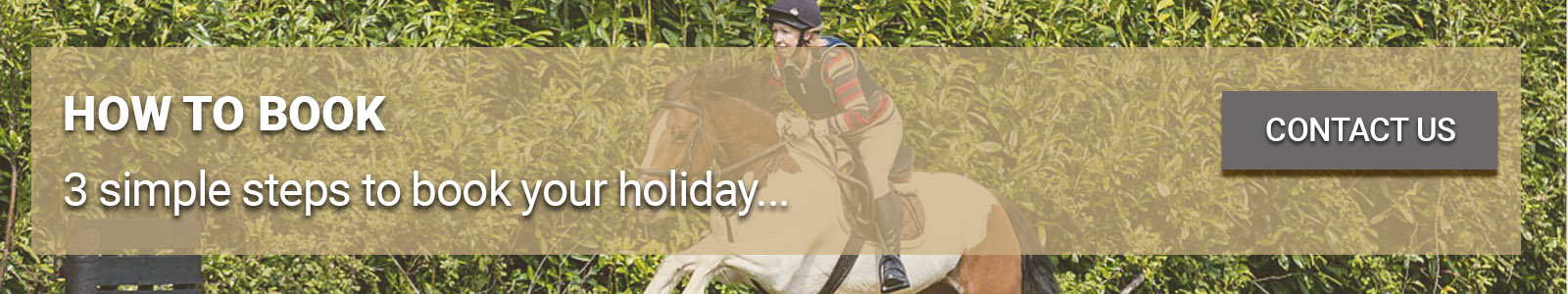 Bel-Air Equestrian How to Book