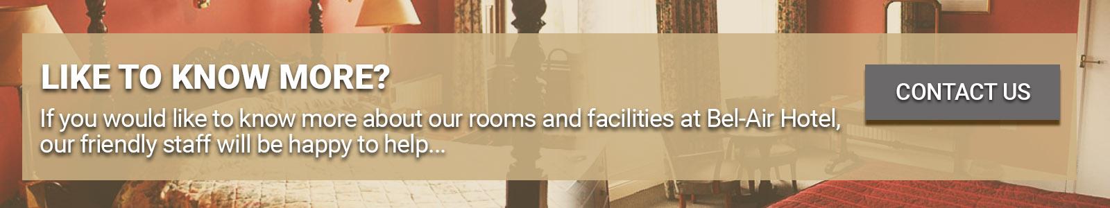 Bel-Air Hotel Rooms