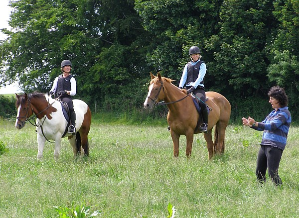 Cross-Country Jumping lesson at Bel-Air Equestrian Centre