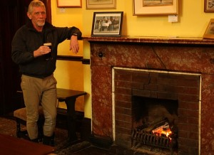 Enjoy a pint in front of the fire after an afternoons horse riding at Bel-Air