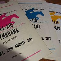 Gymkhana Programmes Bel-Air Hotel Ireland