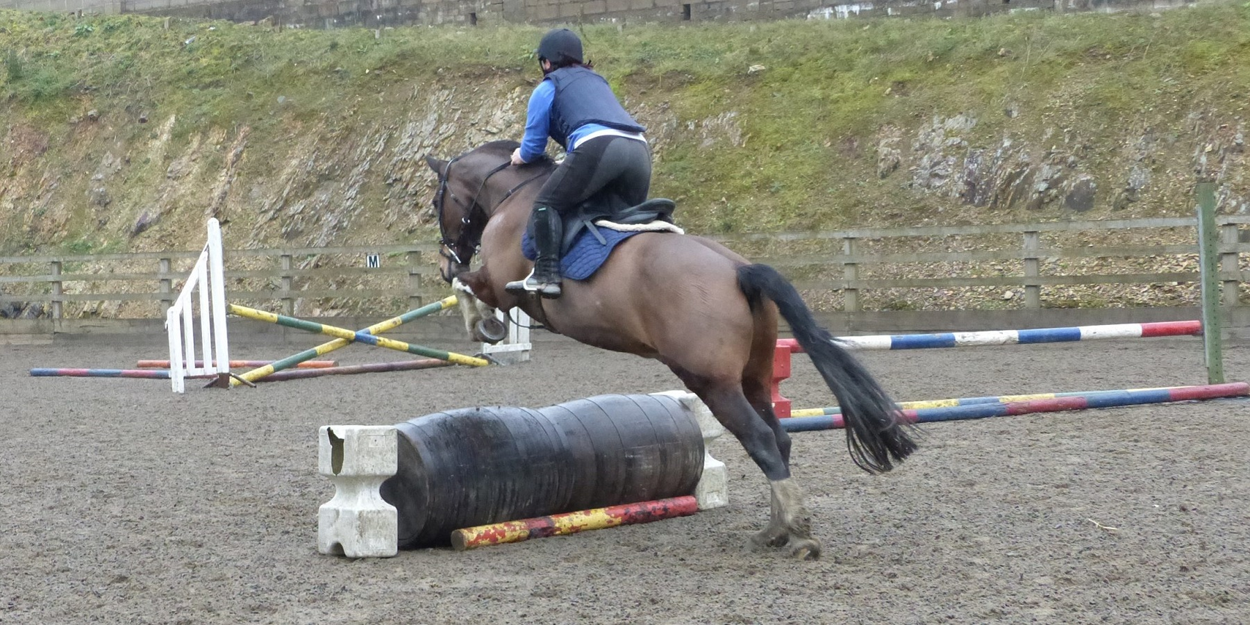 Jumping Lesson At Bel-Air Equestrian Centre