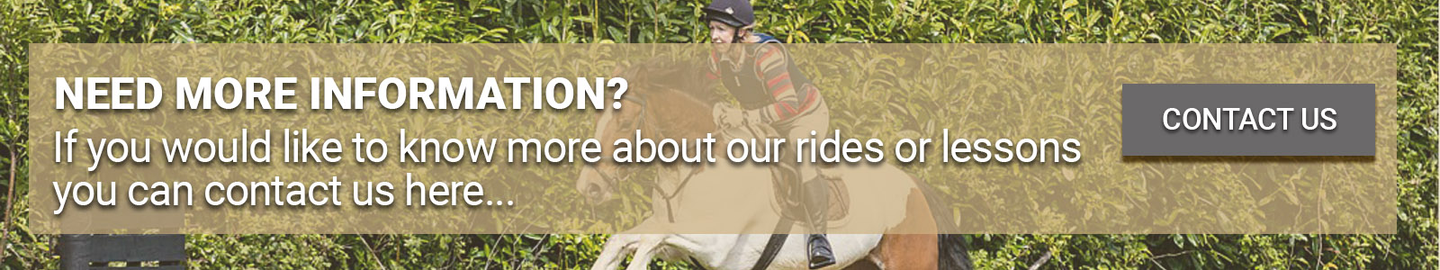 Rates & Booking Equestrian Centre