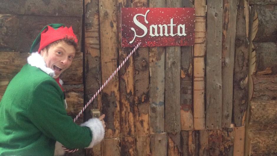 Busy Preparing for the Christmas Wonderland
